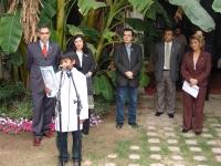 Homenaje del Museo Historico Provincial a Juan Francisco Borges